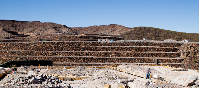 Construction has started on Hoogland Architecture's Ascaya inspirational home. (Tonya Hardy/Real Estate Millions)