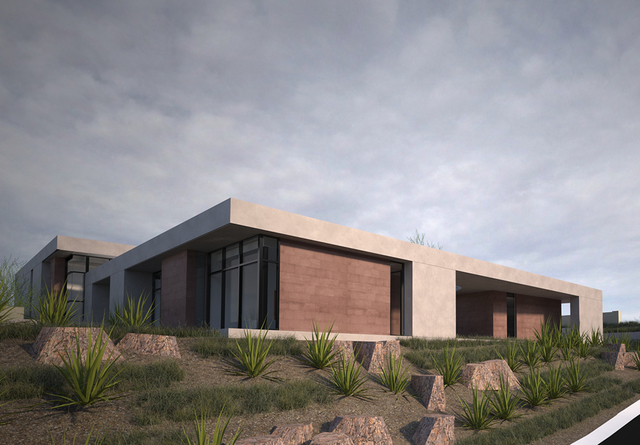 Seven different architects were chosen to design the homes. Only one is from Nevada, C.J. Hoogland of Hoogland Architecture. (Courtesy)