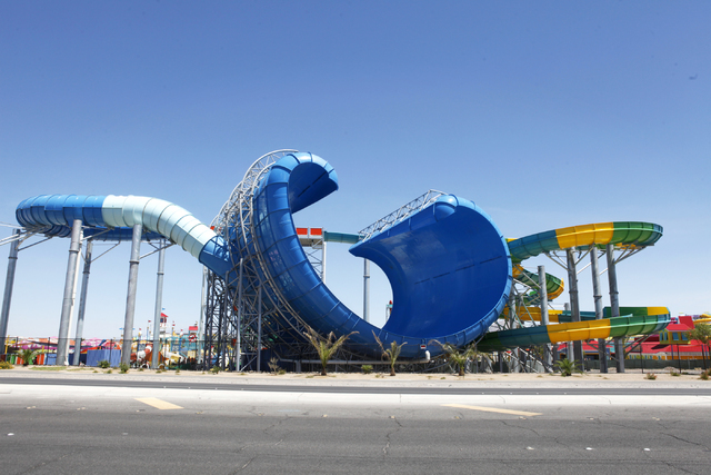 Cowabunga Bay is seen on Wednesday, June 24, 2015, in Henderson. The water park was cited after the near-drowning of a 5-year-old boy for not having enough lifeguards on duty. (James Tensuan/Las V ...