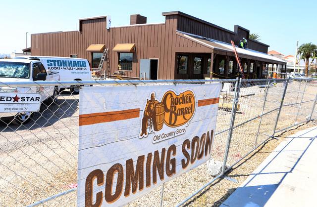 Cracker Barrel In North Las Vegas Expected To Open In