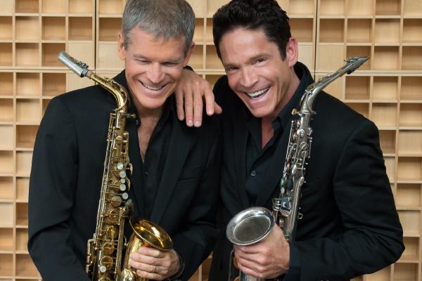 Sax men David Sandborn and Dave Koz.
