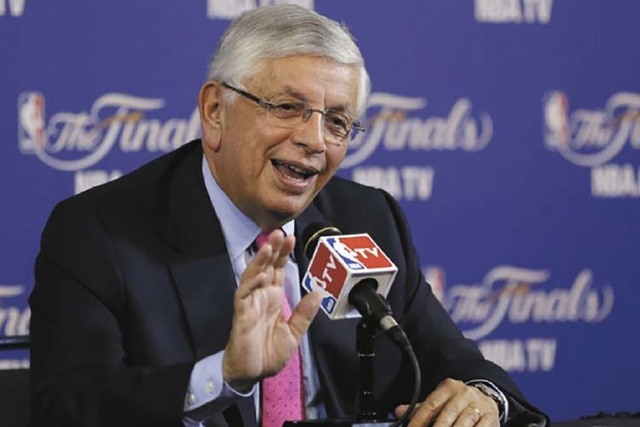Former NBA commissioner David Stern will speak on sports betting at the Global Gaming Expo in Las Vegas in September. (AP)