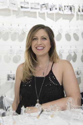 JAECI jewelry store owner Jenna Consiglio poses in her store at 353 E. Bonneville Ave., #107 in Las Vegas on Tuesday, July 26, 2016. Jason Ogulnik/Las Vegas Review-Journal