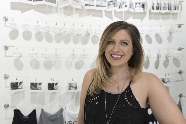 JAECI jewelry store owner Jenna Consiglio poses in her store at 353 E. Bonneville Ave., No. 107, in Las Vegas July 26. Jason Ogulnik/View
