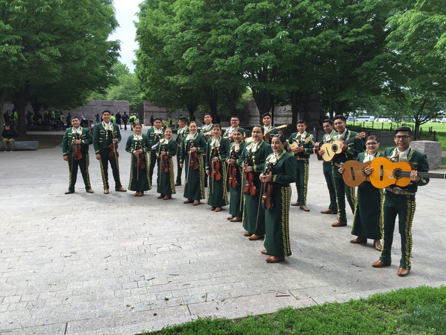 Rancho High School's Mariachi de Oro, directed by instructor Robert Lopez, was invited to perform in Washington, D.C., in May 2016. Special to View
