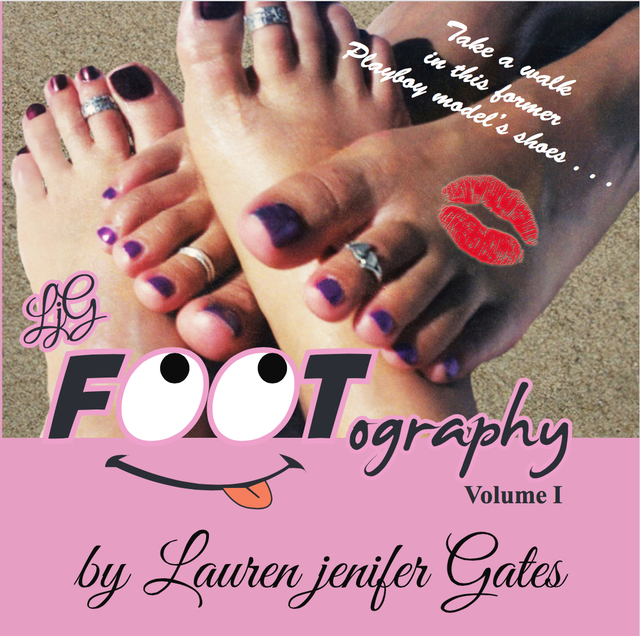 """In """"FOOTography,"""" local author Lauren jenifer Gates shares her toe adventures. Special to View"""