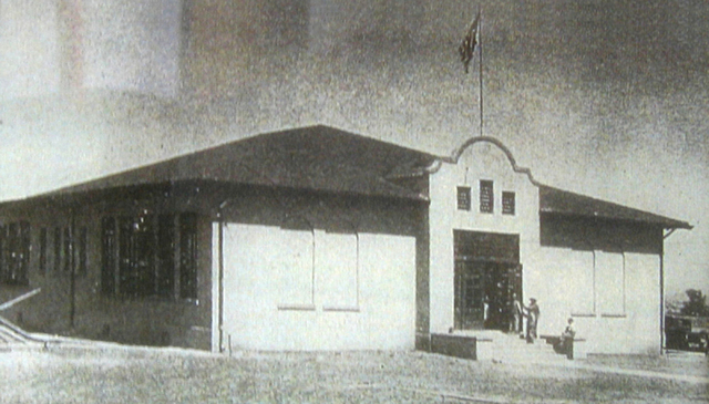 Historic shot of the Westside School. (Courtesy City of Las Vegas)