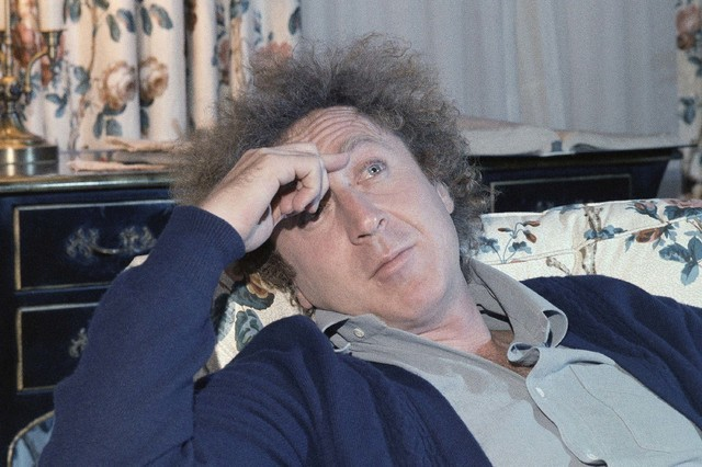Actor Gene Wilder is shown during an interview with Jean Claude Bouis at his New York City hotel, Dec. 9, 1977. The actor and writer, 83, died late Sunday, Aug. 28, 2016, at his home in Stamford,  ...
