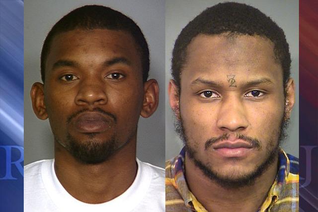 Hakim Blanche-Jones and Malik Watson. (Las Vegas Metropolitan Police Department)