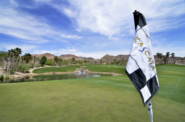 The outdoor demo portion of the PGA Fashion and Demo experience will take place Monday on the range of the Cascata Golf Course in Boulder City. (Bill Hughes/Las Vegas Review-Journal)