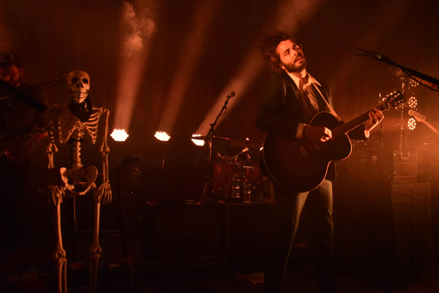 Ben Schneider of Lord Huron performs during the Strange Trails Tour at The Fillmore on Wednesday, June 15, 2016, in Miami. (Photo by Michele Eve Sandberg/Invision/AP)