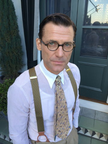 """Anthony DiMaria has a small role as a screenwriter in Woody Allen's new movie, """"Cafe Society,"""" now showing in Las Vegas. He is also doing post-production work on a documentary abut his slain uncle ..."""