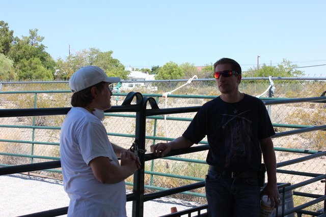 Spirit Therapies, located in Las Vegas, is a riding center that uses horses as a form of therapy. The 22 Warriors Foundation is in talks with the nonprofit about connecting veterans with PTSD to t ...