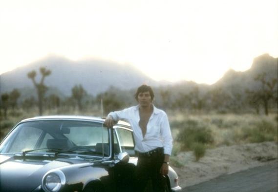 Jay Sebring at Joshua Tree in 1968. (Courtesy)
