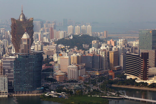 Casinos are seen in a general view of Macau, China, Oct. 8, 2015. (Bobby Yip/Reuters)