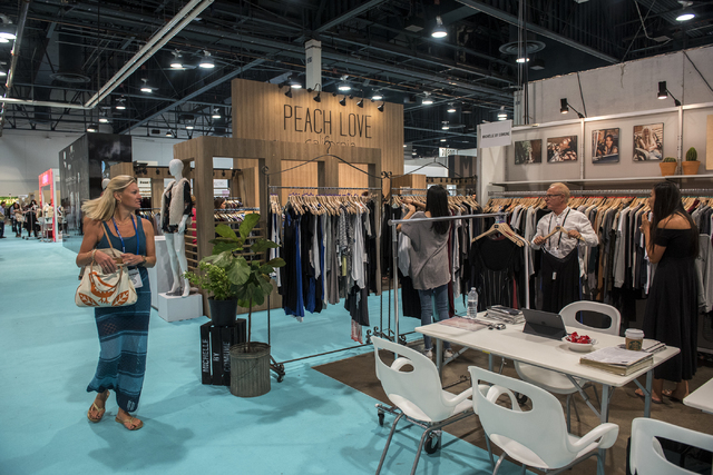 Magic Fashion Trade Show Lures 85 000 People To Las Vegas Las Vegas Review Journal