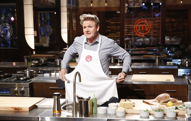 "Gordon Ramsay is the host and star of Fox's ""Master Chef."" (Greg Gayne/Fox)"