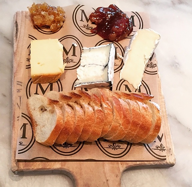 Cheese and charcuterie (courtesy Morels French Steakhouse & Bistro)