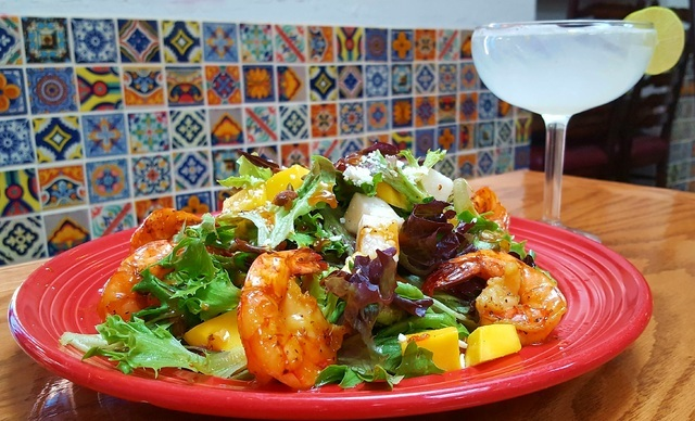 Shrimp and honey salad (courtesy Pancho's Mexican Restaurant)