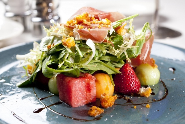 Summer melon salad (courtesy Trevi)