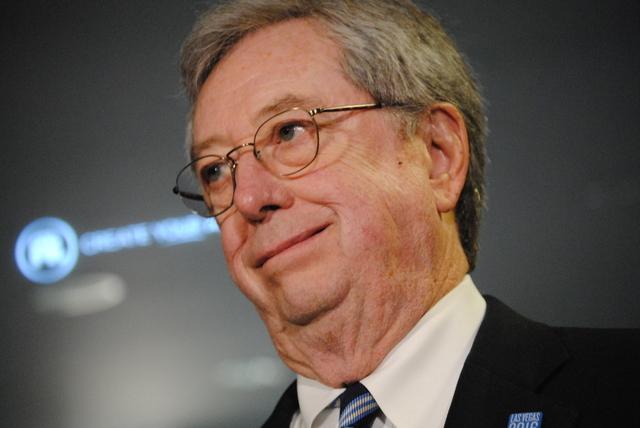 Former Nevada Gov. Bob List (Peter Urban/Review-Journal file)