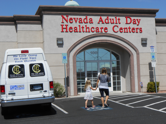 The exterior at Nevada Adult Day Healthcare Centers, 8695 S. Eastern Ave., is seen on July 21. Linda J. Simpson/Special to View