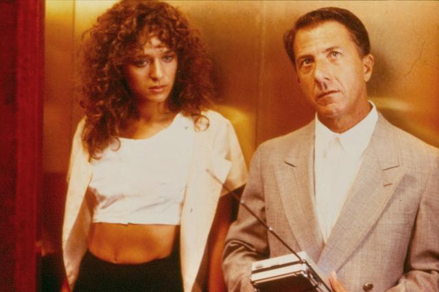 "In the 1988 Oscar-winner ""Rain Man,"" Caesars Palace provides the backdrop for Susanna (Valeria Golino) and Raymond (Dustin Hoffman) to forge a closer bond. (United Artists)"