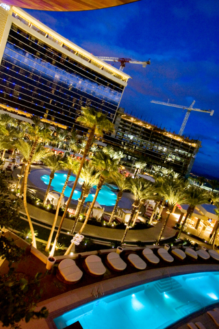 The pool areas of Cherry's night club and Red Rock Resort taken on Friday, April 14, 2006. The newest hotel-casino  from Station Casino company will open in Summerlin on Tuesday. Jeff Scheid/Las V ...