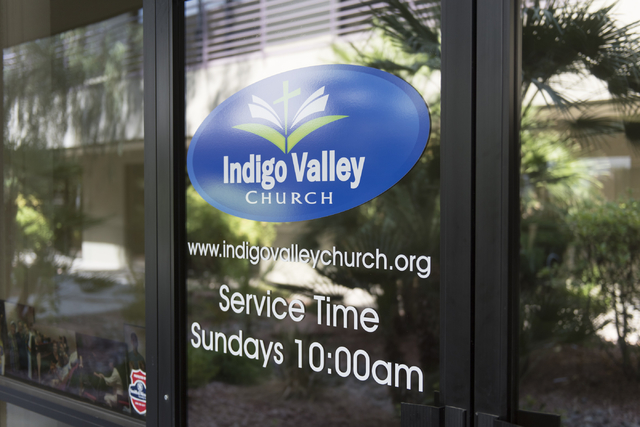 Indigo Valley Church at 2685 S. Rainbow Blvd., Suite 108 in Las Vegas is seen Friday, Aug. 5, 2016. Jason Ogulnik/Las Vegas Review-Journal