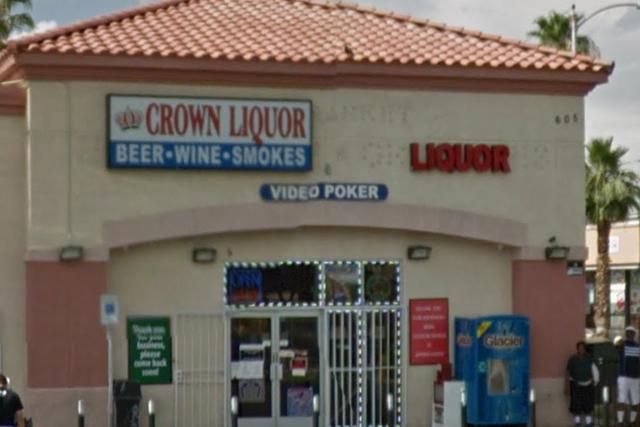 Crown Liquor (Google Street View)