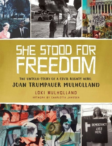 Starting when his subject was roughly the same age as his intended readers, Loki Mulholland tells the little-known story of his mother, Joan Trumpauer Mulholland, and the unsung work she did for C ...