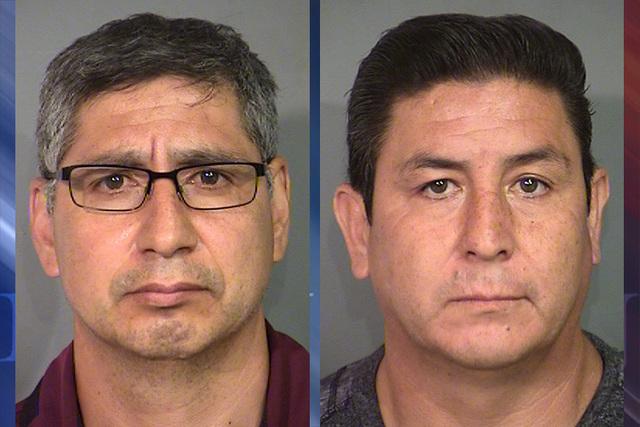 Silvester Gayton and Javier Salgado (Las Vegas Metropolitan Police Department)