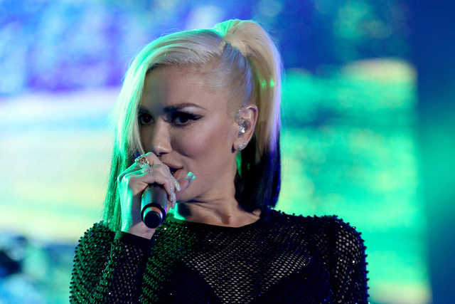 Gwen Stefani performs at Wango Tango at StubHub Center on Saturday, May 14, 2016, in Carson, Calif. (Rich Fury/Invision/AP)