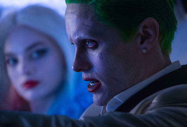 "Margot Robbie as Harley Quinn and Jared Leto as The Joker in the action-adventure ""Suicide Squad."" (Warner Bros. Pictures)"