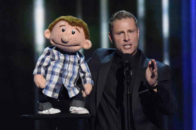 "Ventriloquist Paul Zerdin performs during the 10th season of ""America's Got Talent."" (Peter Kramer/NBC)"