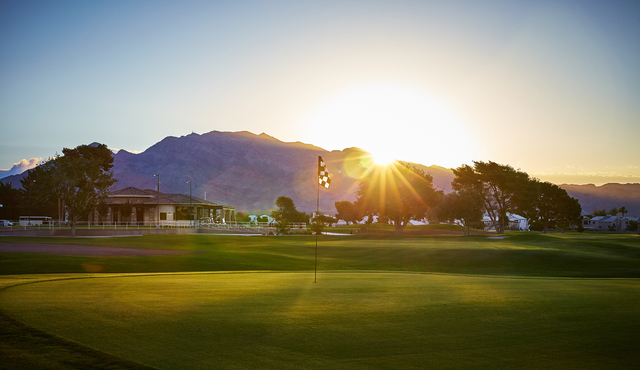 The sun rises in this undated photo at The Club at Sunrise. Special to View