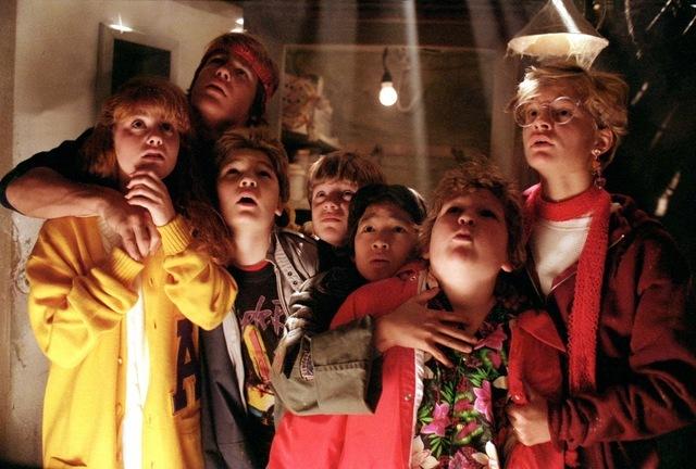 """""""The Goonies"""" (1985)."""