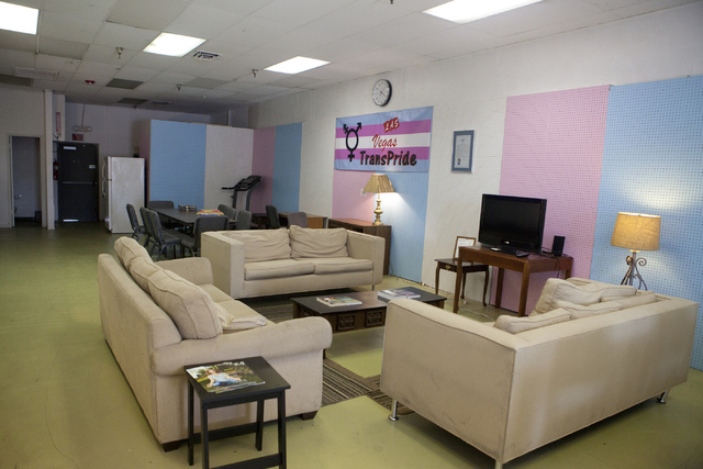 The Interior Of A New Transgender Drop In Center Las Vegas Is Seen On
