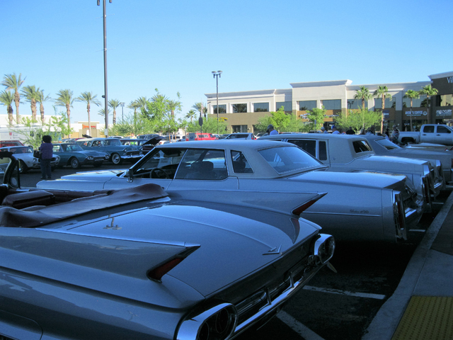 Village Square held its Third Thursdays Car Show & Festival on July 21, 2016, at 9400 W. Sahara Avenue and Ft. Apache Road. Visit govillagesquare.com. Special to View