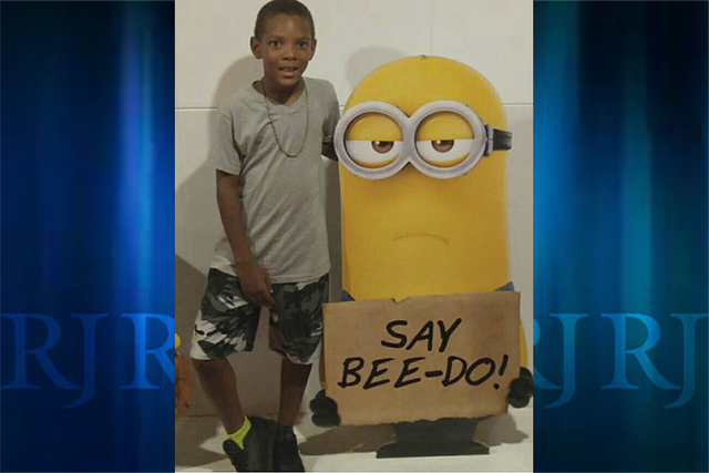 Derion Jayvon Stevenson, 9, was killed by a pit bull mix in the Las Vegas Valley on Aug. 17, 2016. (Lavender Kiing/Facebook)