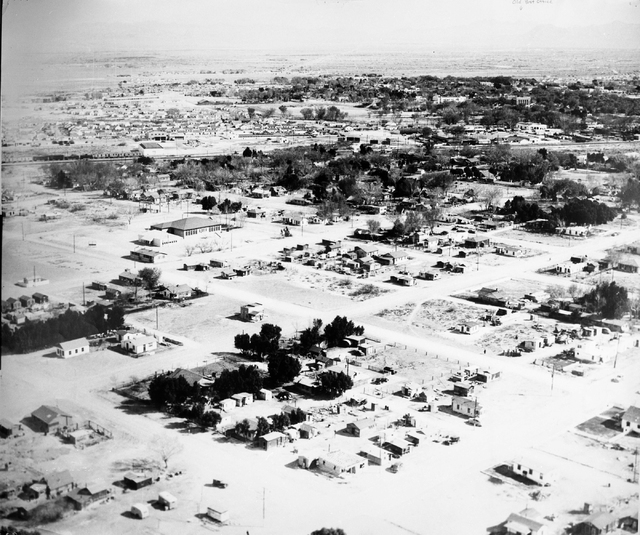 Historic shot of West Las Vegas. (Courtesy City of Las Vegas)