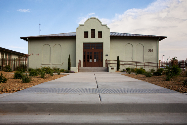 The Historic Westside School is seen on Saturday Aug. 27, 2016 in Las Vegas after a restoration project.  (Jeferson Applegate/Las Vegas Review-Journal)