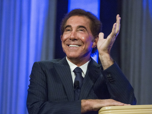Casino resort developer Steve Wynn speaks during the International Conference on Risk Taking convention at the Mirage on Tuesday, June 7, 2016.  (Jeff Scheid/Las Vegas Review-Journal Follow @jlscheid)
