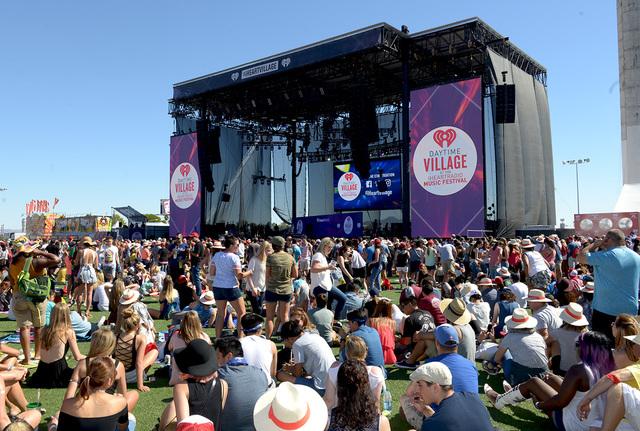 The 2016 iHeartRadio Music Festival Daytime Village on Saturday, Sept. 24, 2016, at Las Vegas Village. (Glenn Pinkerton/Las Vegas News Bureau)