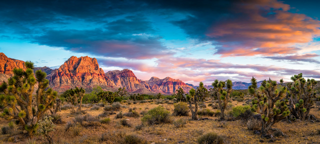 """The clouds mirror the colored rocks at Red Rock Canyon National Conservation Area in this photo by Robert Park from the """"Home Means Nevada"""" exhibit now on display at the Senate Russell Building on ..."""