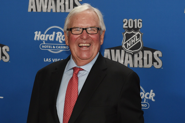 Businessman and recipient of the NHL expansion for Las Vegas Bill Foley appears on the red carpet prior to the annual NHL Awards program Wednesday, June 22, 2016, at the Hard Rock Hotel and Casino ...