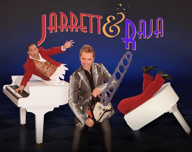 Jarrett & Raja.