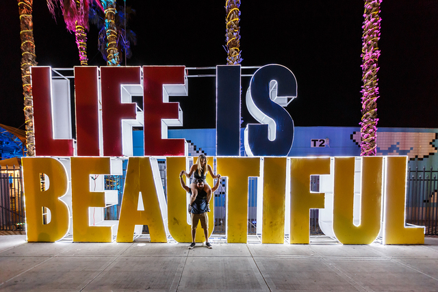 Day 2 of the 2016 Life Is Beautiful Music and Art Festival on Saturday, Sept. 24, 2016, in Downtown Las Vegas. (2016 Life Is Beautiful)