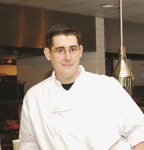 Chef and chocolatier Matthew Silverman of Hexx at Paris Las Vegas.