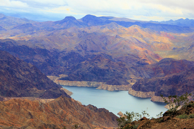 """Retired Lake Mead National Recreation Area superintendent Alan O'Neill captured this view of his former park now on display as part of the """"Home Means Nevada"""" exhibit at the Senate Russell Build ..."""